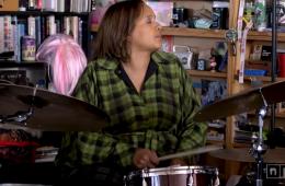 drummer terri lyne carrington in NPR tiny desk concert