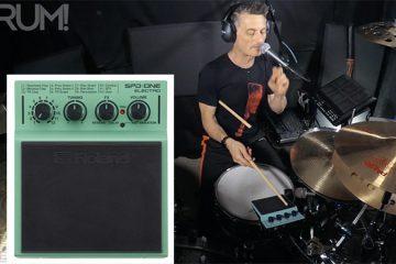hybrid drum lesson roland spd one electro