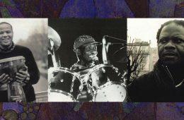 african drummers in paris Tony Allen, Brice Wassy, Mokhtar Samba