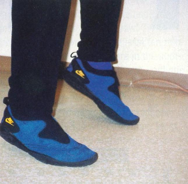 heel-up drum feet