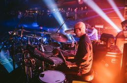 Lotus drummer Mike Greenfield