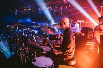 Lotus drummer Mike Greenfield