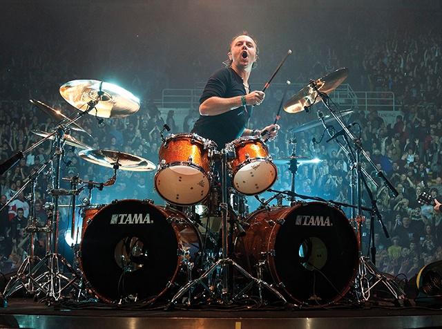 Lars Ulrich Drum Set
