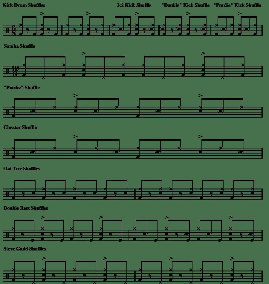 shuffle variations