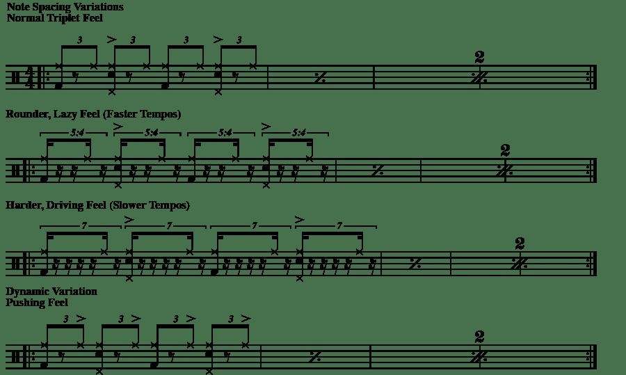 Spacing Variations - Shuffle