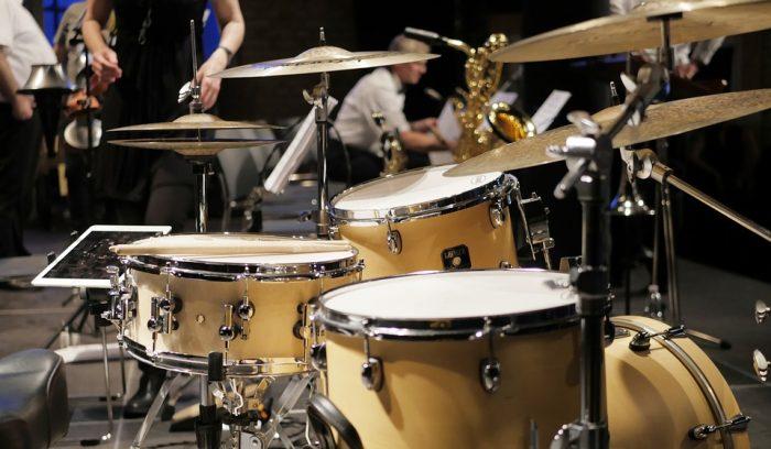 looking new drum set