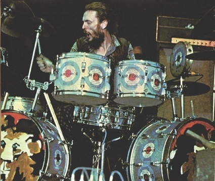 Double Bass Drum Ginger Baker