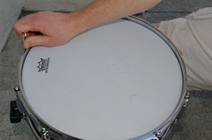 How To Tune Drums by tightening tension rods