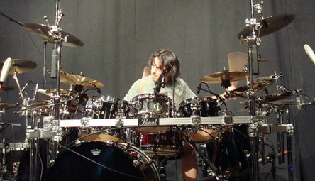 Mike Mangini on the drum
