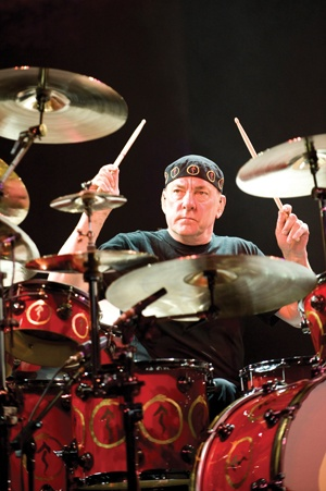 Neil Peart DRUMMER OF THE YEAR