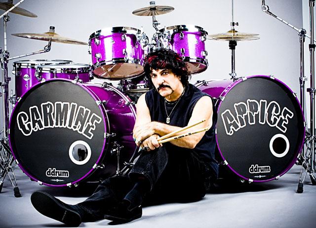 carmine appice on drums
