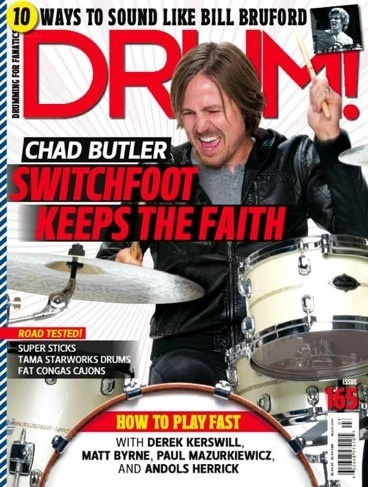 chad butler on the drums