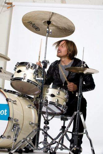 chad butler playing drums