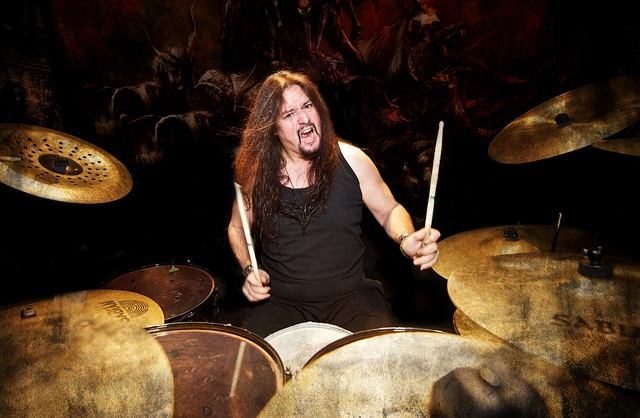 gene hoglan on drums