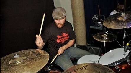 jess margera on drums