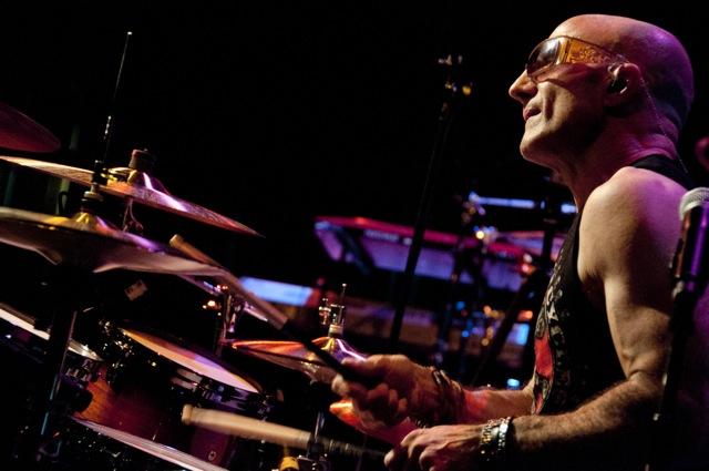 paul bostap on drums