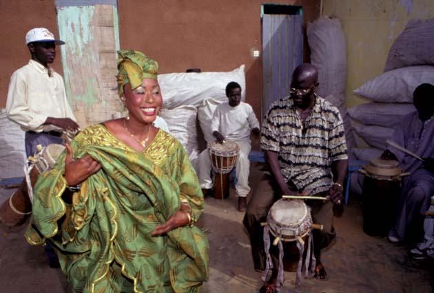 sabar drumming beats