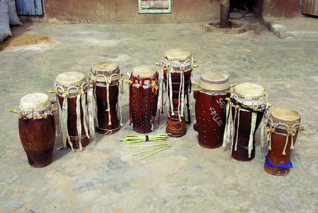 sabar drumming drum set