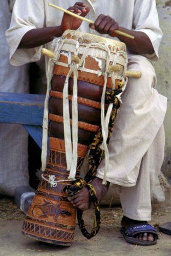 sabar drumming plays