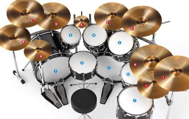 tim yeung drums set