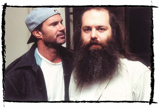 Chad Smith & Rick Rubin