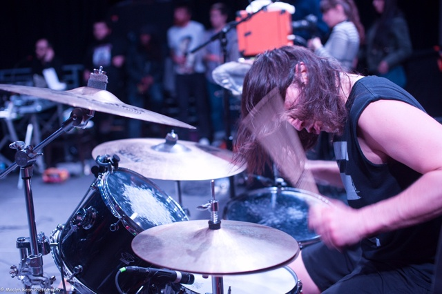 Killer Be Killed: Exclusive Drummer's-Eye-View Video