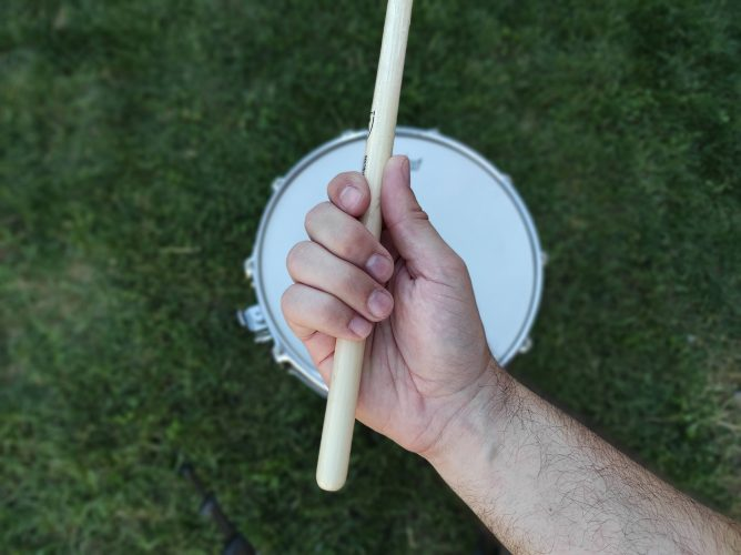 how to play matched grip