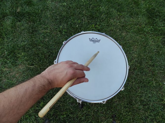 traditional grip drums