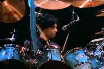 prince on drums
